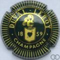 Champagne capsule 3.a Vert foncé et or, striée