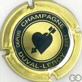 Champagne capsule 32 Vert foncé, contour or