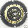 Champagne capsule 41.a Gris, or et blanc verso gris