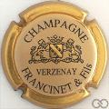 Champagne capsule 1 Contour or