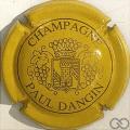 Champagne capsule 12.b Jaune et or