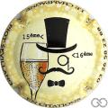 Champagne capsule 961.c Personnalisée sur n° 961.c