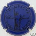Champagne capsule 9 Bleu et noir