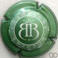 Champagne capsule 13 Contour vert pâle