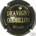 Champagne capsule  Noir avec strass