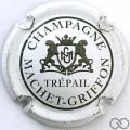 Champagne capsule 1 Blanc, noir et or