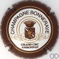 Champagne capsule 6 Contour marron clair, petites étoiles sur contour