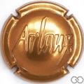 Champagne capsule 4 Estampée, bronze