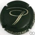 Champagne capsule 15.f Noir (mat) et or pâle