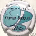 Champagne capsule 1 Cuvée Adélie, vert