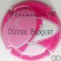 Champagne capsule 1.h O rose, B blanc