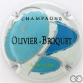 Champagne capsule 1.e OB bleu