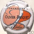 Champagne capsule 1.a Cuvée Adélie, orange