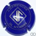Champagne capsule 4 Bleu et or