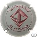 Champagne capsule 3 Gris et bordeaux