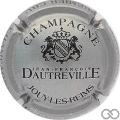 Champagne capsule  Argent et noir