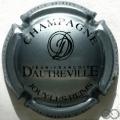 Champagne capsule 11.b Argent bleuté et noir