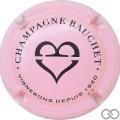 Champagne capsule A1.a Rose et noir