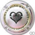 Champagne capsule 9.a Métal et noir