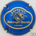 Champagne capsule 31.a Bleu vif métallisé et or-jaune