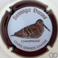 Champagne capsule 20.a Bécasse, contour marron