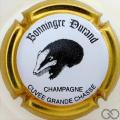 Champagne capsule 24.a Blaireau, contour or