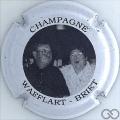 Champagne capsule 10 Noir et blanc, couple