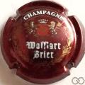 Champagne capsule 4 Bordeaux, blason rouge