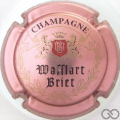 Champagne capsule 3 Rosé, blason rouge