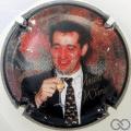 Champagne capsule 11 Portrait, avec nom