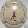 Champagne capsule 4 Crème et bordeaux