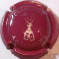 Champagne capsule 13.c Lie de vin et argent