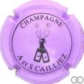 Champagne capsule 13.b Mauve et noir
