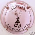 Champagne capsule 11 Rosé-violacé et noir