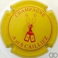 Champagne capsule 5 Jaune et rouge