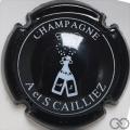 Champagne capsule 8 Noir et blanc