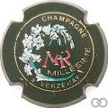 Champagne capsule 3.a Millésime, or pâle