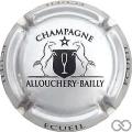 Champagne capsule 6 Argent et noir