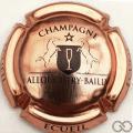 Champagne capsule 5 Cuivre-rosé et noir