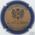 Champagne capsule 6 Contour bleu