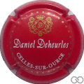 Champagne capsule 14 Fond rouge