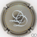 Champagne capsule 35.a Fond argent
