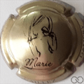 Champagne capsule 15.d Or et noir