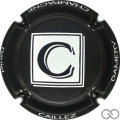 Champagne capsule 17 Noir et blanc