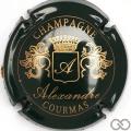 Champagne capsule 8 Vert et or