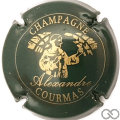 Champagne capsule 5.a Vert- noir et or