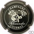 Champagne capsule 5.d Noir et blanc