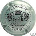 Champagne capsule 6 Métal et noir