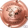 Champagne capsule 5 Rosé et noir
