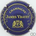 Champagne capsule 7 Bleu foncé et or